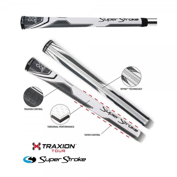SuperStroke Traxion Tour Golf Club Grips